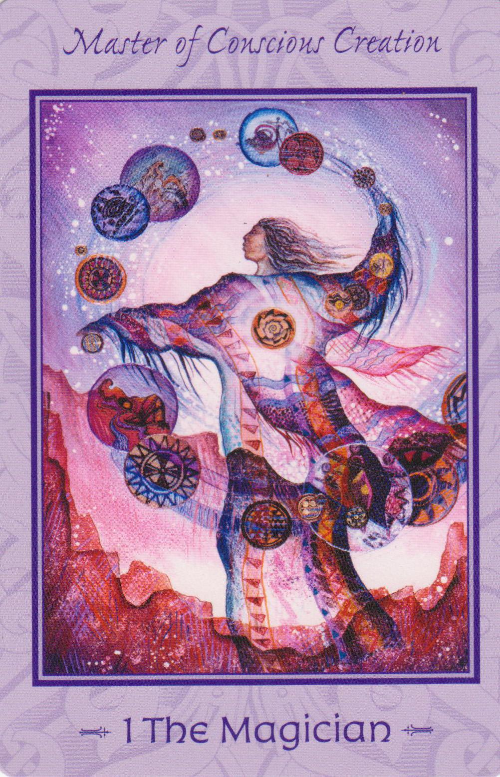 Tarot Of The Legendary: Wheel Of Fortune - Wizards Tarot